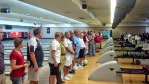 2014 Verterans Line Up For Opening Ceremonies